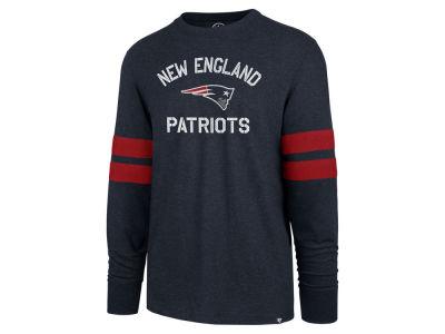 New England Patriots  47 NFL Men s Scramble Long Sleeve Club T-Shirt 57eaa2625