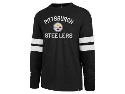 38e4c90f2 Pittsburgh Steelers  47 NFL Men s Scramble Long Sleeve Club T-Shirt