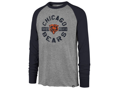 Chicago Bears '47 NFL Men's Retro Encircled Long Sleeve Club Raglan T-shirt