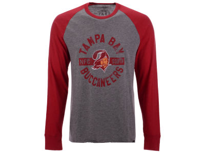 Tampa Bay Buccaneers '47 NFL Men's Retro Encircled Long Sleeve Club Raglan T-shirt