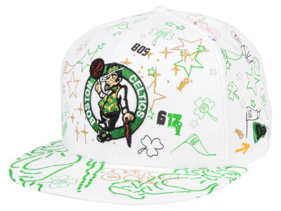 Boston Celtics New Era Write On 9FIFTY Snapback Cap