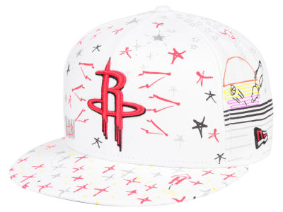 Houston Rockets New Era NBA Write On 9FIFTY Snapback Cap