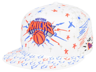 New York Knicks New Era NBA Write On 9FIFTY Snapback Cap
