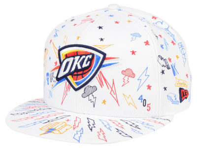 Oklahoma City Thunder New Era NBA Write On 9FIFTY Snapback Cap