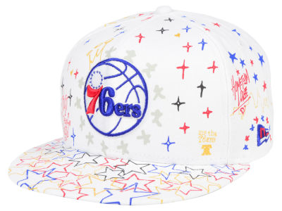 Philadelphia 76ers New Era NBA Write On 9FIFTY Snapback Cap