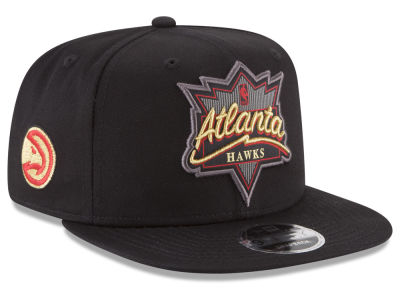Atlanta Hawks New Era NBA Retro Showtime 9FIFTY Snapback Cap