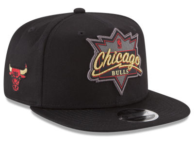 Chicago Bulls New Era NBA Retro Showtime 9FIFTY Snapback Cap