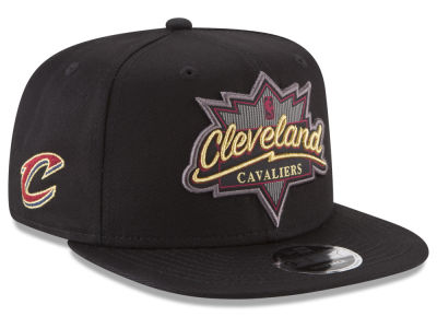 Cleveland Cavaliers New Era NBA Retro Showtime 9FIFTY Snapback Cap