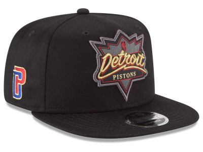 Detroit Pistons New Era NBA Retro Showtime 9FIFTY Snapback Cap