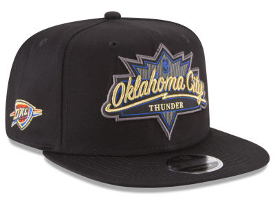 Oklahoma City Thunder New Era NBA Retro Showtime 9FIFTY Snapback Cap