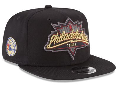 Philadelphia 76ers New Era NBA Retro Showtime 9FIFTY Snapback Cap