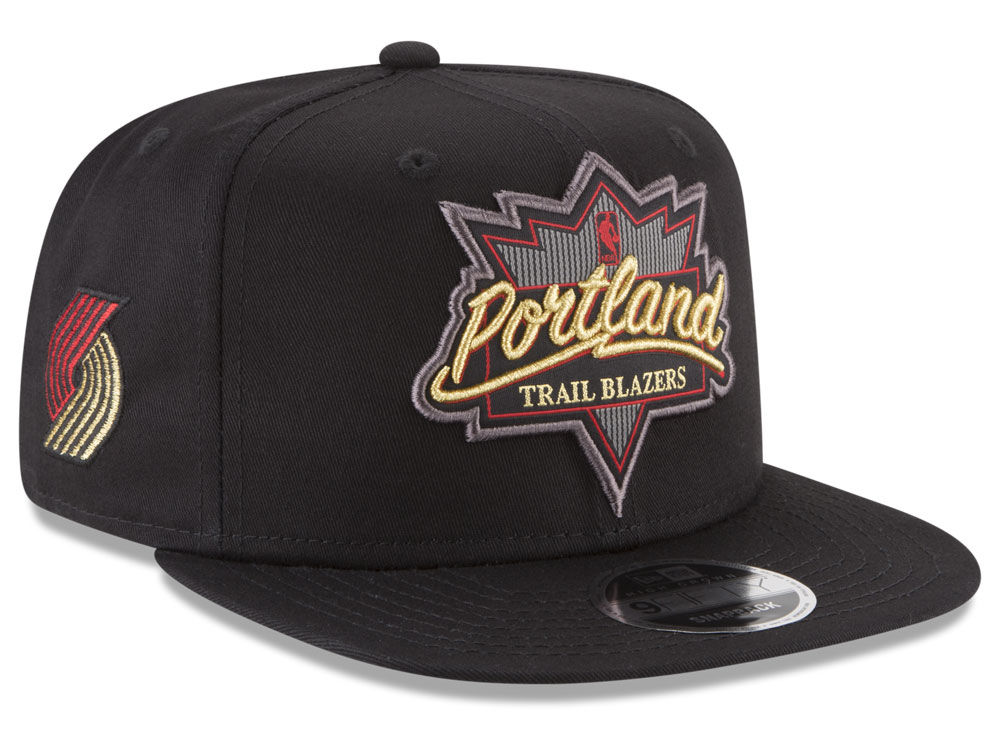 7e3dcb80437 Portland Trail Blazers New Era NBA Retro Showtime 9FIFTY Snapback Cap