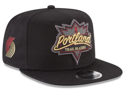 Portland Trail Blazers New Era NBA Retro Showtime 9FIFTY Snapback Cap