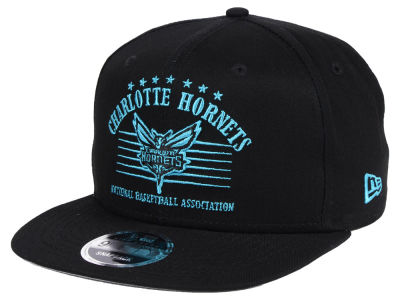 Charlotte Hornets New Era NBA Retro Arch 9FIFTY Snapback Cap