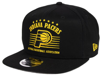 Indiana Pacers New Era NBA Retro Arch 9FIFTY Snapback Cap