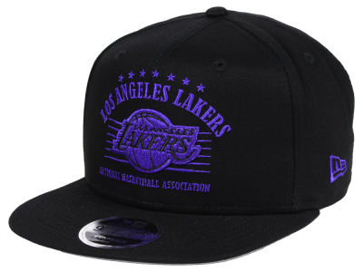 Los Angeles Lakers New Era NBA Retro Arch 9FIFTY Snapback Cap