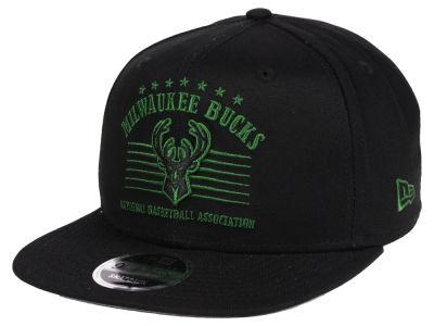 Milwaukee Bucks New Era NBA Retro Arch 9FIFTY Snapback Cap