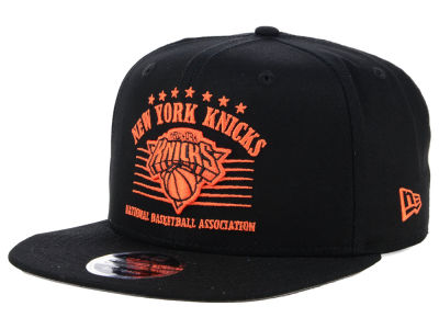 New York Knicks New Era NBA Retro Arch 9FIFTY Snapback Cap