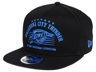 Oklahoma City Thunder New Era NBA Retro Arch 9FIFTY Snapback Cap