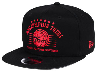 Philadelphia 76ers New Era NBA Retro Arch 9FIFTY Snapback Cap