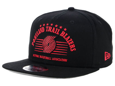 Portland Trail Blazers New Era NBA Retro Arch 9FIFTY Snapback Cap