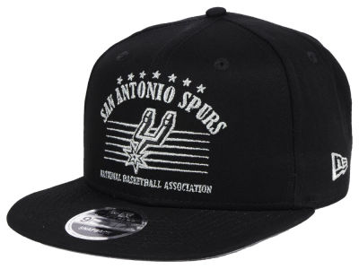 San Antonio Spurs New Era NBA Retro Arch 9FIFTY Snapback Cap