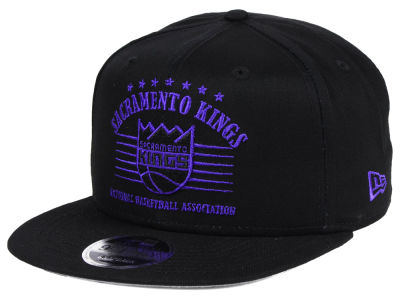 Sacramento Kings New Era NBA Retro Arch 9FIFTY Snapback Cap