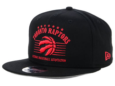 Toronto Raptors New Era NBA Retro Arch 9FIFTY Snapback Cap