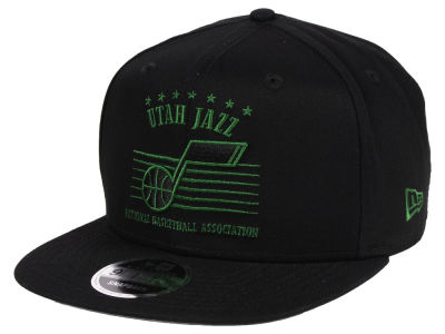 Utah Jazz New Era NBA Retro Arch 9FIFTY Snapback Cap