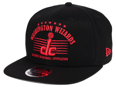Washington Wizards New Era NBA Retro Arch 9FIFTY Snapback Cap