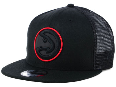 Atlanta Hawks New Era NBA Reflect Trucker 9FIFTY Snapback Cap