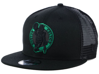 Boston Celtics New Era NBA Reflect Trucker 9FIFTY Snapback Cap