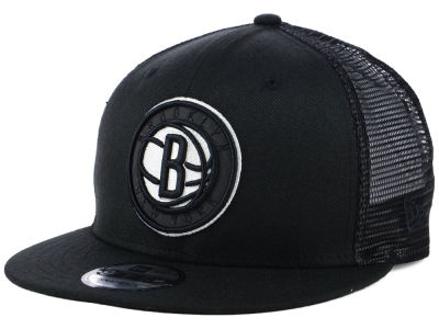 Brooklyn Nets New Era NBA Reflect Trucker 9FIFTY Snapback Cap