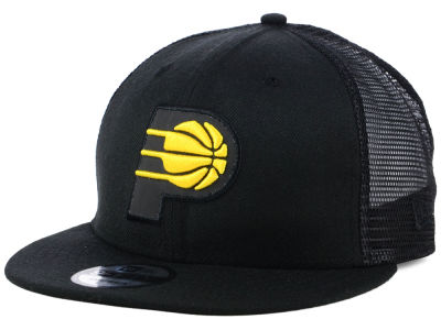 Indiana Pacers New Era NBA Reflect Trucker 9FIFTY Snapback Cap