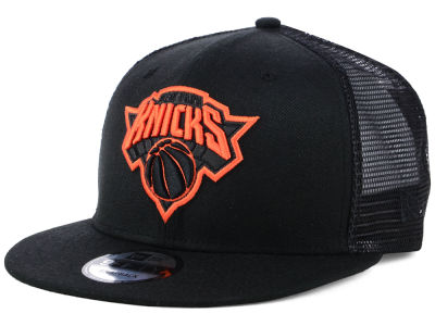 New York Knicks New Era NBA Reflect Trucker 9FIFTY Snapback Cap