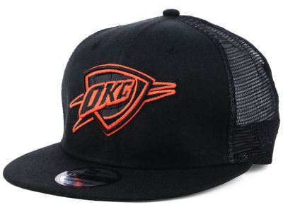 Oklahoma City Thunder New Era NBA Reflect Trucker 9FIFTY Snapback Cap