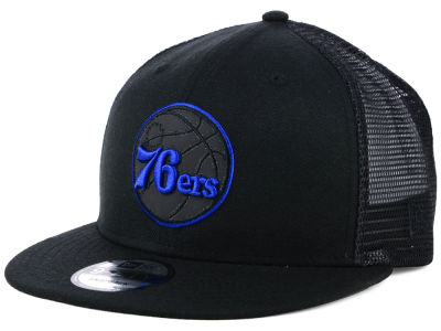 Philadelphia 76ers New Era NBA Reflect Trucker 9FIFTY Snapback Cap