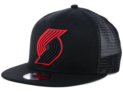 Portland Trail Blazers New Era NBA Reflect Trucker 9FIFTY Snapback Cap