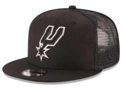 San Antonio Spurs New Era NBA Reflect Trucker 9FIFTY Snapback Cap