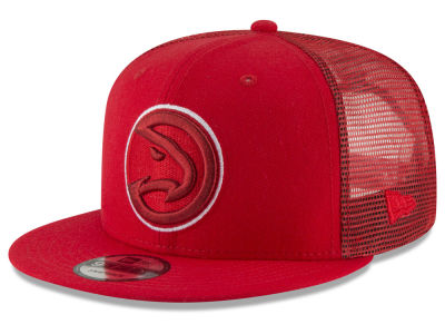 Atlanta Hawks New Era NBA Almost Tonal Trucker 9FIFTY Snapback Cap