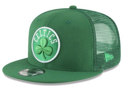 Boston Celtics New Era NBA Almost Tonal Trucker 9FIFTY Snapback Cap