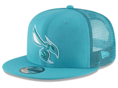 Charlotte Hornets New Era NBA Almost Tonal Trucker 9FIFTY Snapback Cap