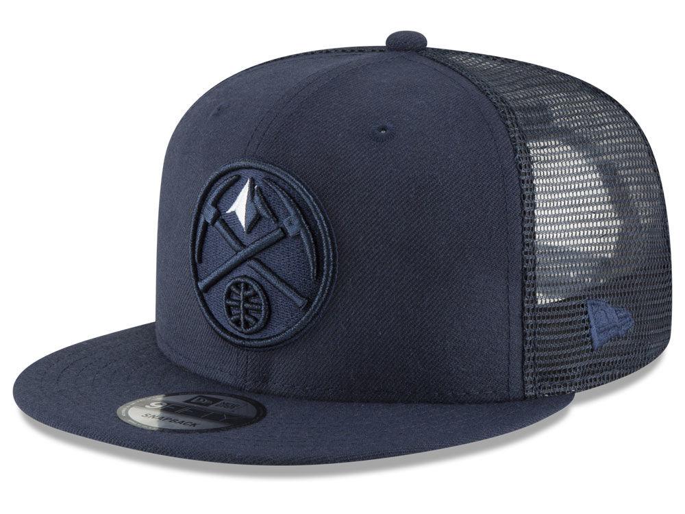 Denver Nuggets New Era NBA Almost Tonal Trucker 9FIFTY Snapback Cap ... b63622ead