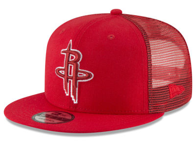 Houston Rockets New Era NBA Almost Tonal Trucker 9FIFTY Snapback Cap