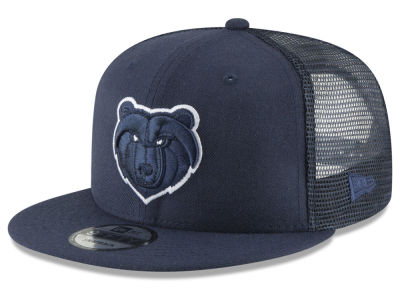 Memphis Grizzlies New Era NBA Almost Tonal Trucker 9FIFTY Snapback Cap