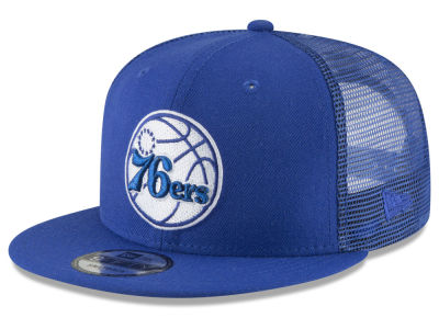 Philadelphia 76ers New Era NBA Almost Tonal Trucker 9FIFTY Snapback Cap
