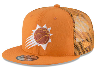 Phoenix Suns New Era NBA Almost Tonal Trucker 9FIFTY Snapback Cap