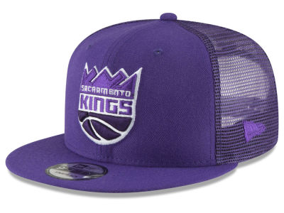 Sacramento Kings New Era NBA Almost Tonal Trucker 9FIFTY Snapback Cap