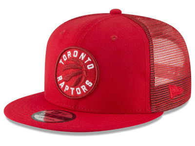 Toronto Raptors New Era NBA Almost Tonal Trucker 9FIFTY Snapback Cap