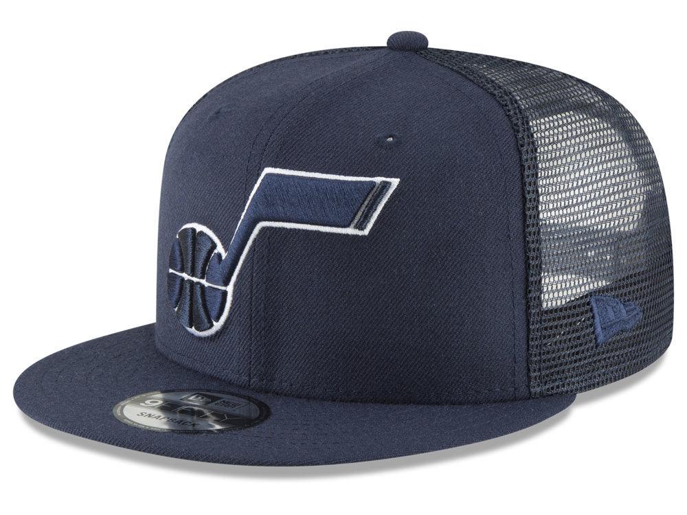 Utah Jazz New Era NBA Almost Tonal Trucker 9FIFTY Snapback Cap ... 45dc66435
